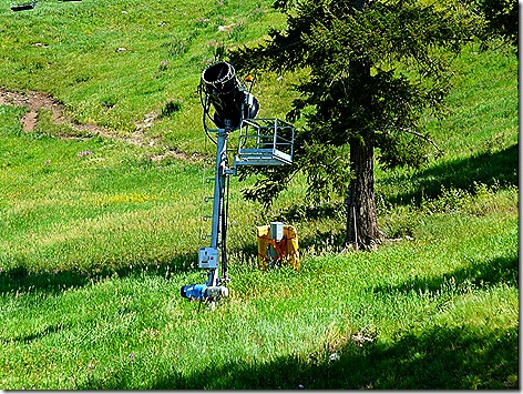 Snow King Mountain Snow Machine