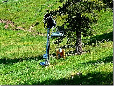 Snow King Mountain Snow Machine