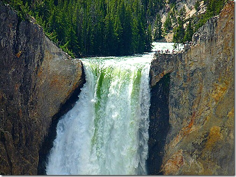 Yellowstone Lower Falls 2