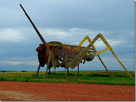 Enchanted Highway Grasshopper