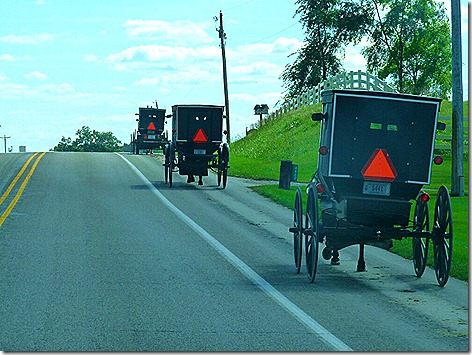 Amish Traffic Jam