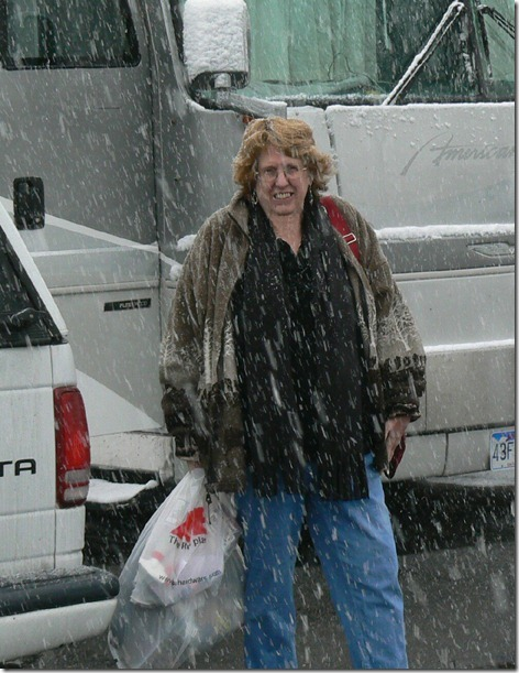 Jan in the Snow