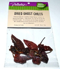 Dried Ghost Chiles