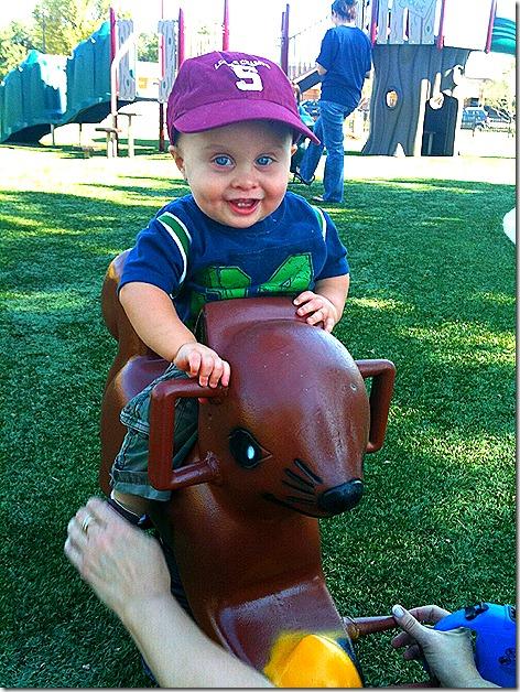 Landon on Horsey 2
