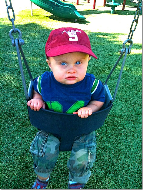 Landon on Swing