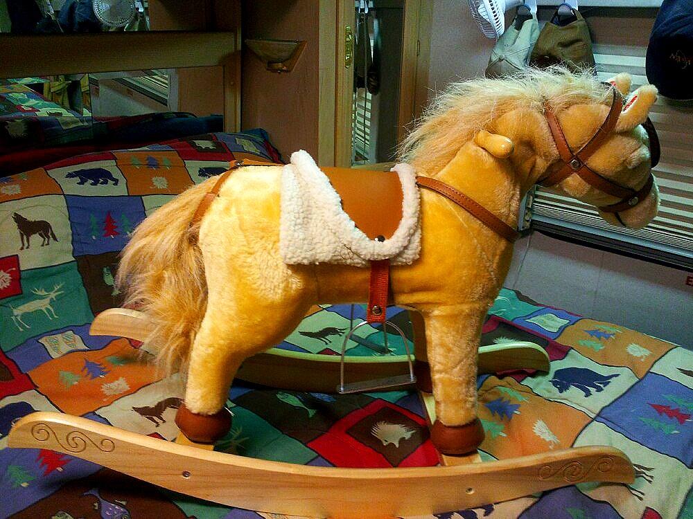 amish rocking horse plans