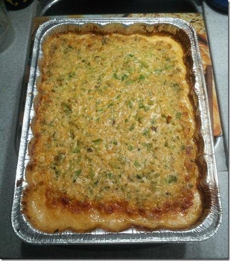 Brocolli-Cheese Casserole