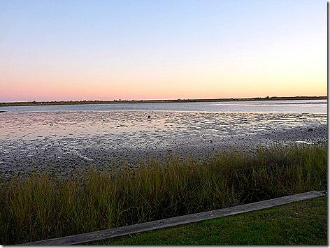 Galveston Bay Mudflat Sunset 2