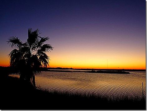 Galveston Bay Sunrise 1