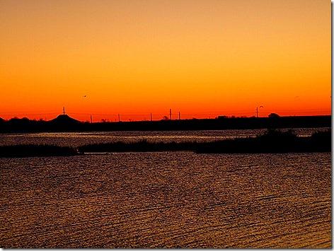 Galveston Bay Sunrise 2
