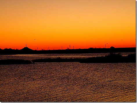 Galveston Bay Sunrise 2