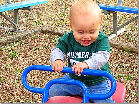 Landon at the Park 2