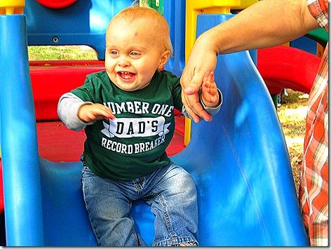 Landon at the Park 5