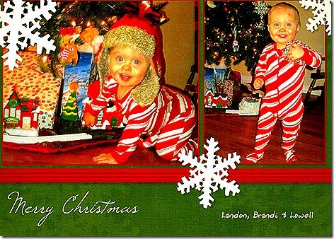 Landon Christmas Card 2011a