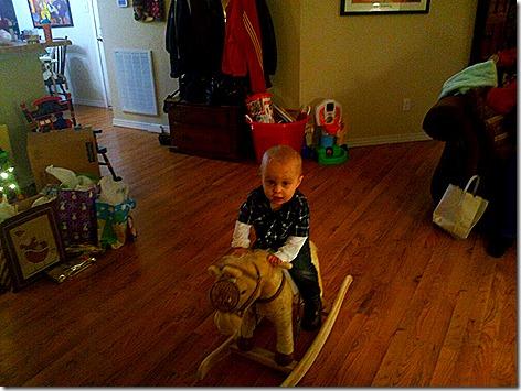 Landon Christmas Horsey
