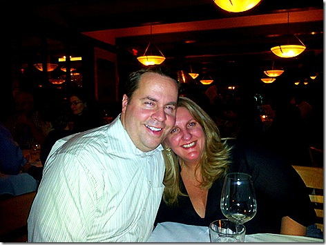 Brandi and Lowell at Kirby's Steakhouse