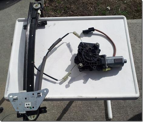 Door Removal Motor and Regulator