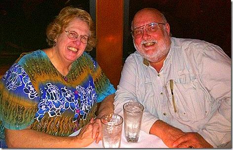Greg and Jan at Kirby's
