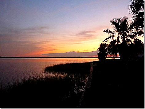 Galv Bay Sunset