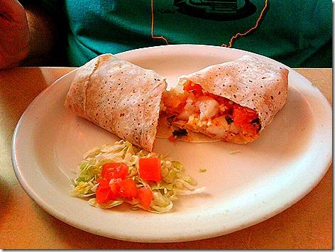 Sofia Shrimp Burrito