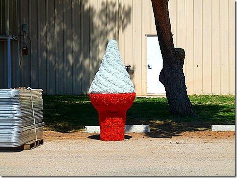 Tucson Fair Ice Cream Cone