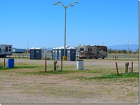 Tucson Fair Porta Potties