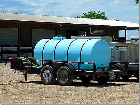Gate Guard Water Tank