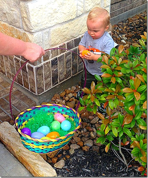 Landon Egg Hunt 5