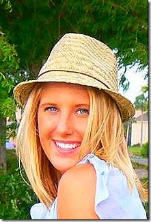 Piper in Straw Hat