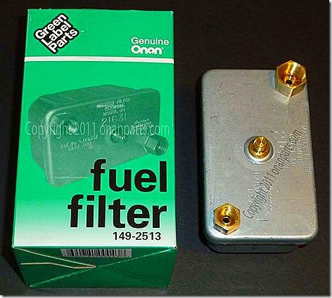 Generator Fuel Filter 2