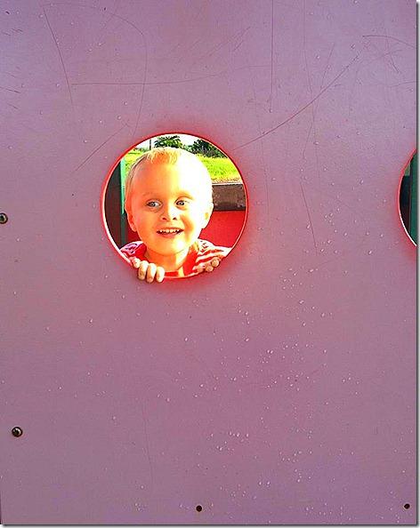 Landon in Porthole