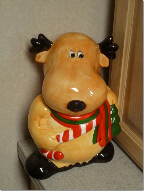 Moose Cookie Jar