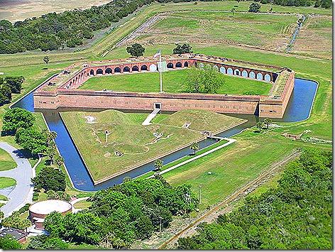 Fort Pulaski Air View