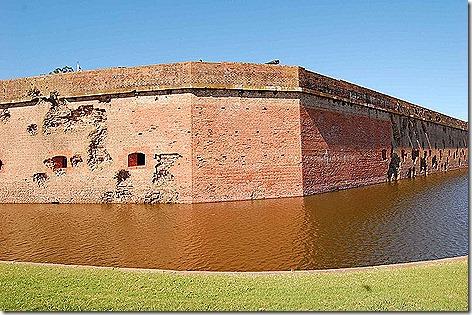 Fort Pulaski Damage