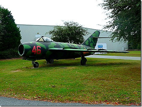 Mighty 8th Air Force Museum MiG 17
