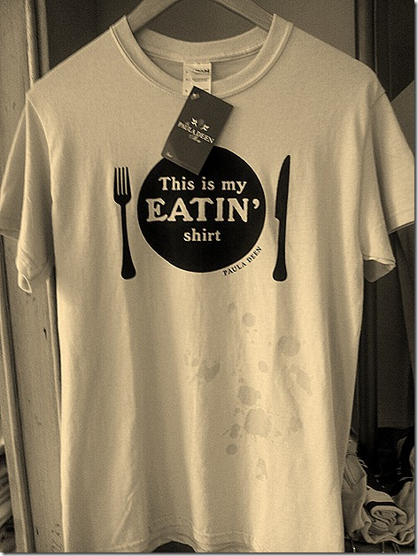 Paula Deen's Eating Shirt