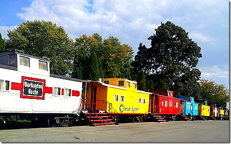 Red Caboose Motel 6