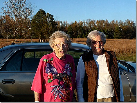Anna Jean and Marjorie