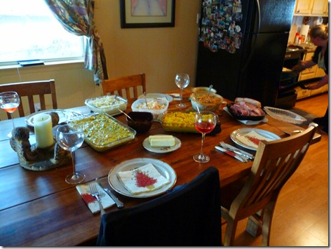 Thanksgiving at the Lake