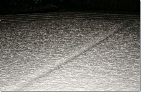 Christmas Eve 2004 Snowfall