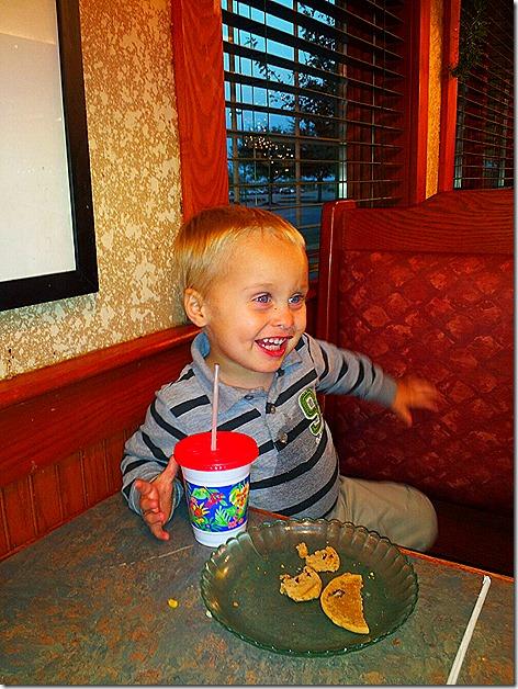 Landon at Ryan's