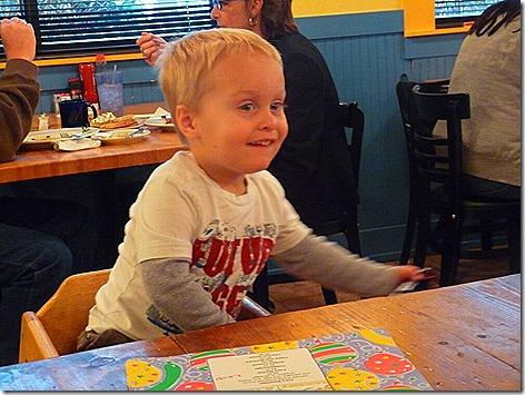 Landon at Sunflower Cafe 2