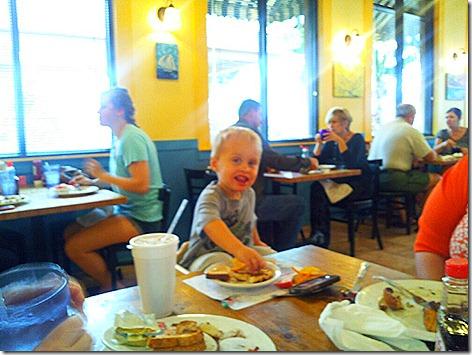 Landon at Sunflower Cafe