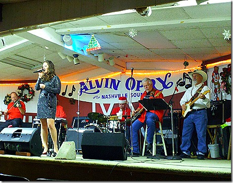Morgan McKay at the Alvin Opry