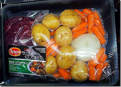 Tyson Beef Stew Kit