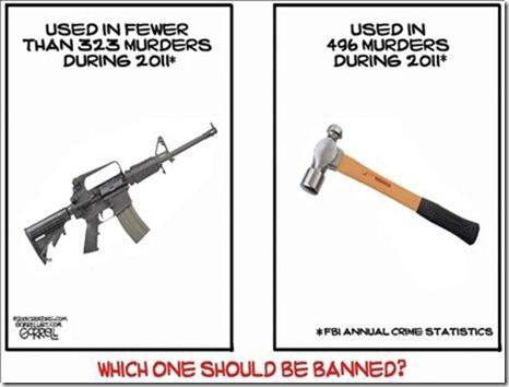 AR-15 v Hammer
