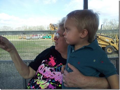 Jan and Landon at Bayou Wildlife Park
