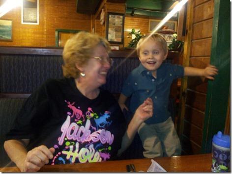 Landon and Nana at Barcenas