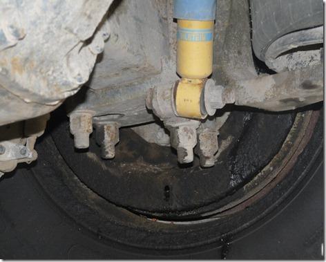 Leaky Wheel Seal