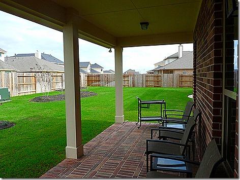 New House - Backyard